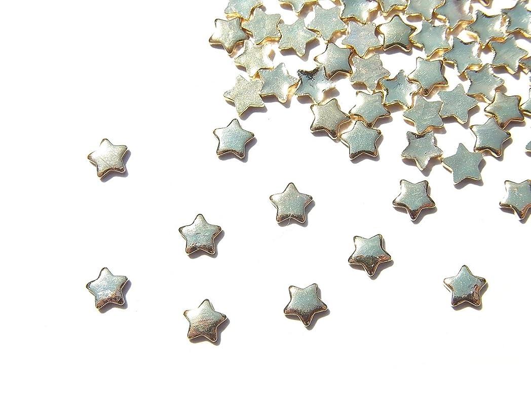 気配りのある顎前提条件【jewel】mp10 ゴールド メタルパーツ 星10個入り ネイルアートパーツ レジンパーツ