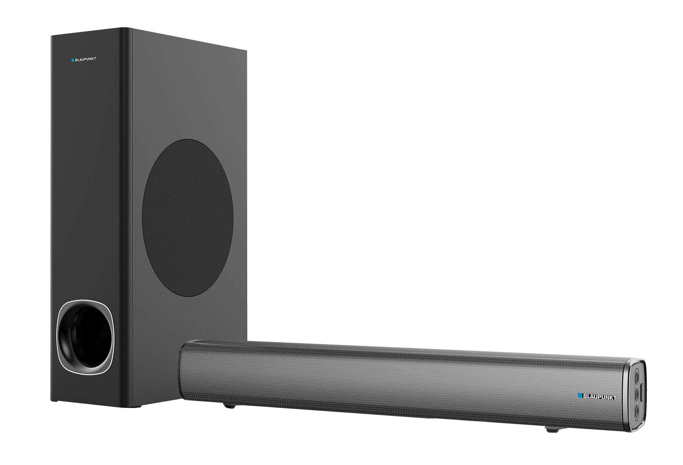 Blaupunkt BLP9810 - Barra de Sonido y subwoofer para TV con Bluetooth (80W) Color Negro: Amazon.es: Electrónica