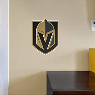 FATHEAD NHL Vegas Golden Knights - Logo- Officially Licensed Removable Wall Decal