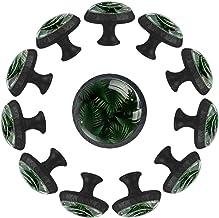 Groene Bladeren Bladplant, Keuken Knoppen voor Kasten Glas Knop voor Dressoir Laden Trekt Kabinet Handvat Hardware voor Ka...