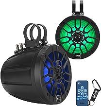 $231 » BOSS Audio Systems MPWT60RGB Marine ATV UTV Roll Cage Waketower Speaker Pods - 600 Watts of Power Per Pair, 6.5 Inch, Full...