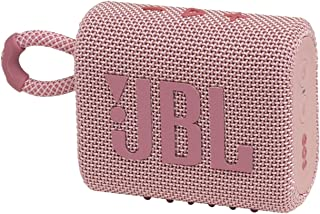 JBL GO3 Portable Bluetooth Speaker Pink