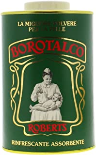 Robert's Borotalco Body Powder Family Size - Talcum, 1000 g/