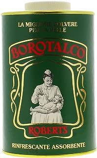 Robert's Borotalco Body Powder Family Size - Talcum, 1000 g/1kg 35 oz. by Manetti Roberts