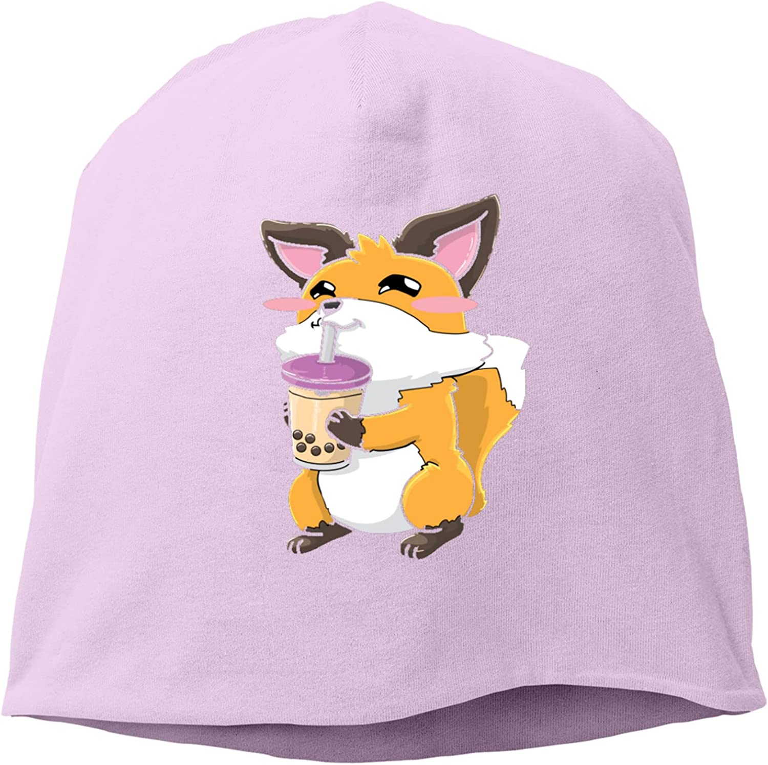 Fox Popular shop is the lowest price Free shipping anywhere in the nation challenge in Tea Hat,Unisex Knitted Hedging Cap Adjustable Beanie