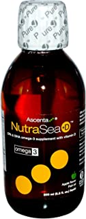 NutraSea +D Omega-3 Supplement with Vitamin D Crisp Apple Flavor