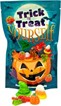 Trick Or Treat Yourself Assorted Gummies | Perfect for Halloween Munchies! | Spiders, Witches Hats, Candy Corn, Pumpkins