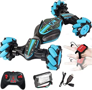 Heyean RC Stunt Car, Remote Control Car Rechargeable Deformable 4WD 2.4GHz High Speed Stunt RC Car with Sensing Twisting V...