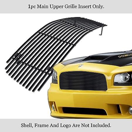 312 Motoring fits 2006-2010 Dodge Charger Chrome Grill Grille KIT 2007 2008 2009 06 07 08 09 10 HEMI SXT R//T SE Daytona SRT8 SRT-8
