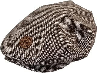 Kids Irish Brown Tweed Celtic Hat