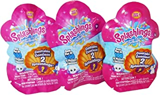 Splashlings Wave 1 Blind Foil Bags - Bundle of 3 by Variety