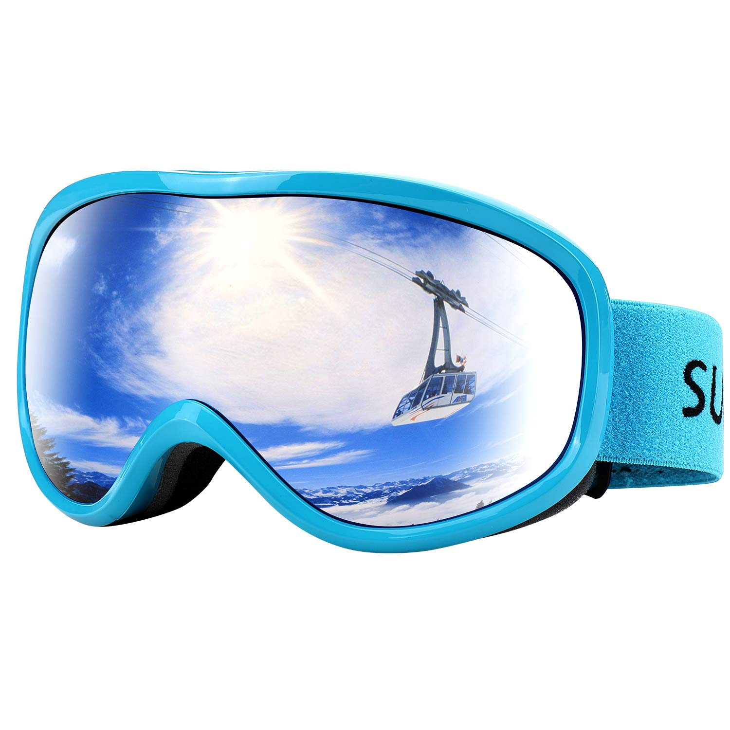 Supertrip Goggles Anti Fog Protection Snowboard