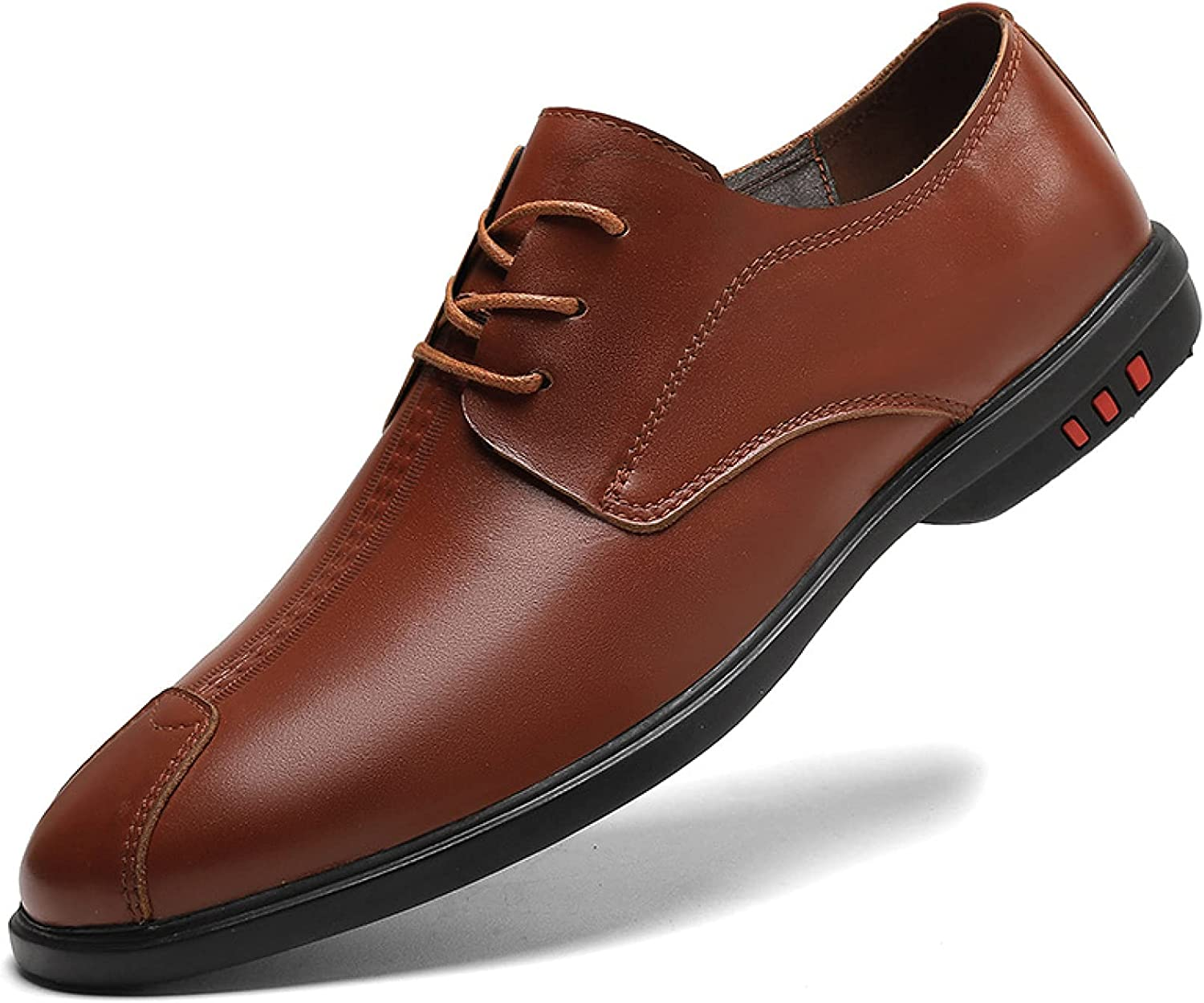 Mens Simplicity Fashionable Flat Loafer Penny Shoes Genuine Free shipping / New Leather Strappy