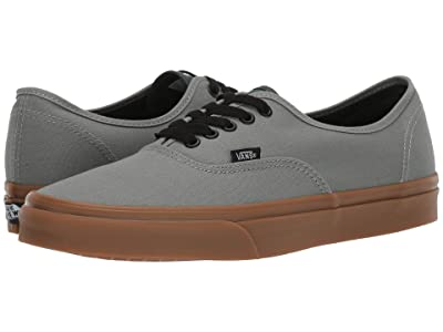Vans Authentictm ((Gum) Shadow/Trekking Green) Skate Shoes