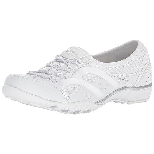 Skechers White Shoes: Amazon.co.uk