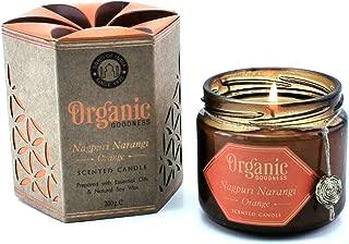 Song of india Nagpuri Narangi - Orange Creamy Organic Soy Wax & Beeswax Candle
