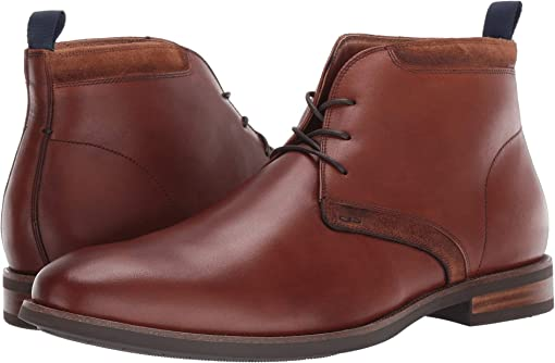 Cognac Leather/Suede