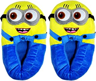 CARRY TRIP Minion Despicable me Slippers Shoes for Women and Men Blue