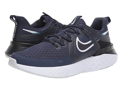 Nike Legend React 2 (Midnight Navy/Pure Platinum/Obsidian) Men