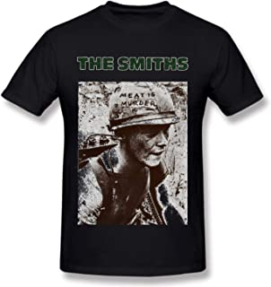 2019 Smiths T-Shirts Meat is Murde Cotton Men's Rock Music T-Shirts