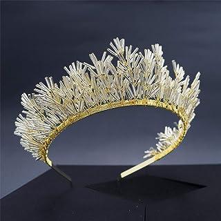 Corone Accessorio for Capelli Nuziale Corone diademi Fascia Prom Queen Crown Tiara Fascia Promenade di Nozze della Princip...