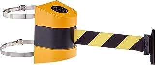 No Custom Orange Webbing Standard Belt End Black Tensabarrier 896-STD-33-STD-NO-O5X-C Standard Wall Mount Standard 7.5