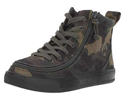 BILLY Footwear Kids Classic Lace High (Toddler/Little Kid/Big Kid) SINGLE SHOE (Green Camo) Kid