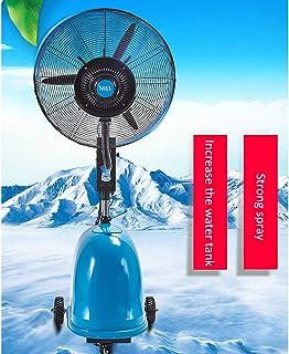 Ventilador de fábrica móvil Ventilador de aire frío Ventilador eléctrico grande Ventilador industrial Ventilador potente Ventilador de nebulización Ventilador de pulverización Refrigerador de suelo