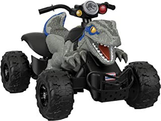 Vehículo Montable Power Wheels Jurassic World Dino Racer