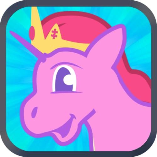 Mis juegos de Poni para Niñas: Pequeño Poni Rompecabezas para Niños y Niñas que aman los caballos y ponis de princesa unicornio gratis
