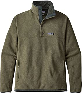 M LW Better Sweater Marsupial Pullover Industrial Green Mens S