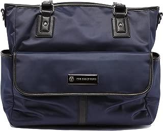 cee cee & ryan 'Lisa' Baby Bag/Diaper Bag - Carryall Tote, Midnight Blue