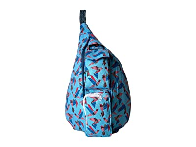 KAVU Mini Rope Bag (Paper Flock) Bags