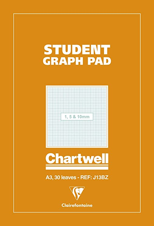 A3 Tracing 30 Sheets//Graph//Layout Pad Ideal for home//school//office//Art//GPG-060