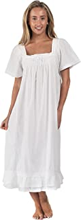 The 1 for U 100% Cotton Short Sleeve Nightgown – Evelyn
