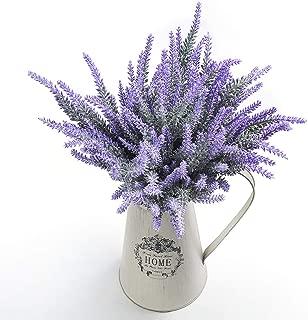 Veryhome Artificial Lavender Flowers Bouquet Fake Lavender Plant for Wedding Home Garden Decor 8 Bundles