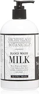Archipelago Milk Hand Wash, 17 Fl Oz