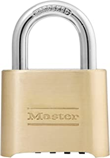 Master Lock 175DAU 51mm Wide Set Your Own Combination Solid Body Padlock