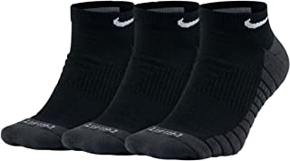 Nike No Show Socks 3ppk Dri-fit Cushion