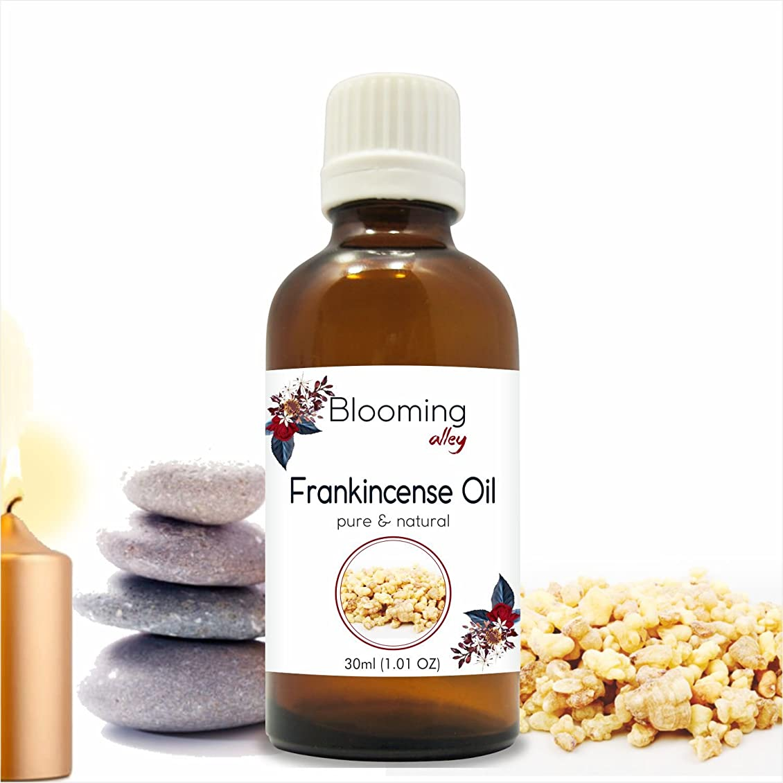 ラッカス地下代替案Frankincense Oil (Boswellia Carteri) Essential Oil 30 ml or 1.0 Fl Oz by Blooming Alley