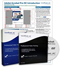 $39 » Learn Adobe Acrobat Pro DC DELUXE CPE Training Tutorial Package- Video Lessons, PDF Instruction Manuals, Printed and Laminated Quick Reference Guide, Testing Materials, and Certificate of Completion