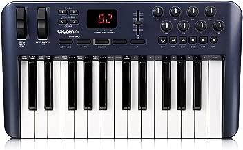 m audio oxygen 25 garageband