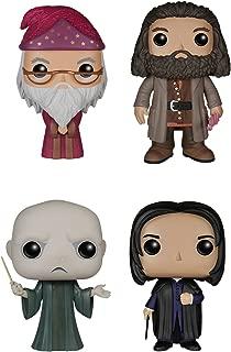 Funko Harry Potter POP! Movie Vinyl Collectors Set: Dumbledore, Hagrid, Voldemort, Snape Action Figure