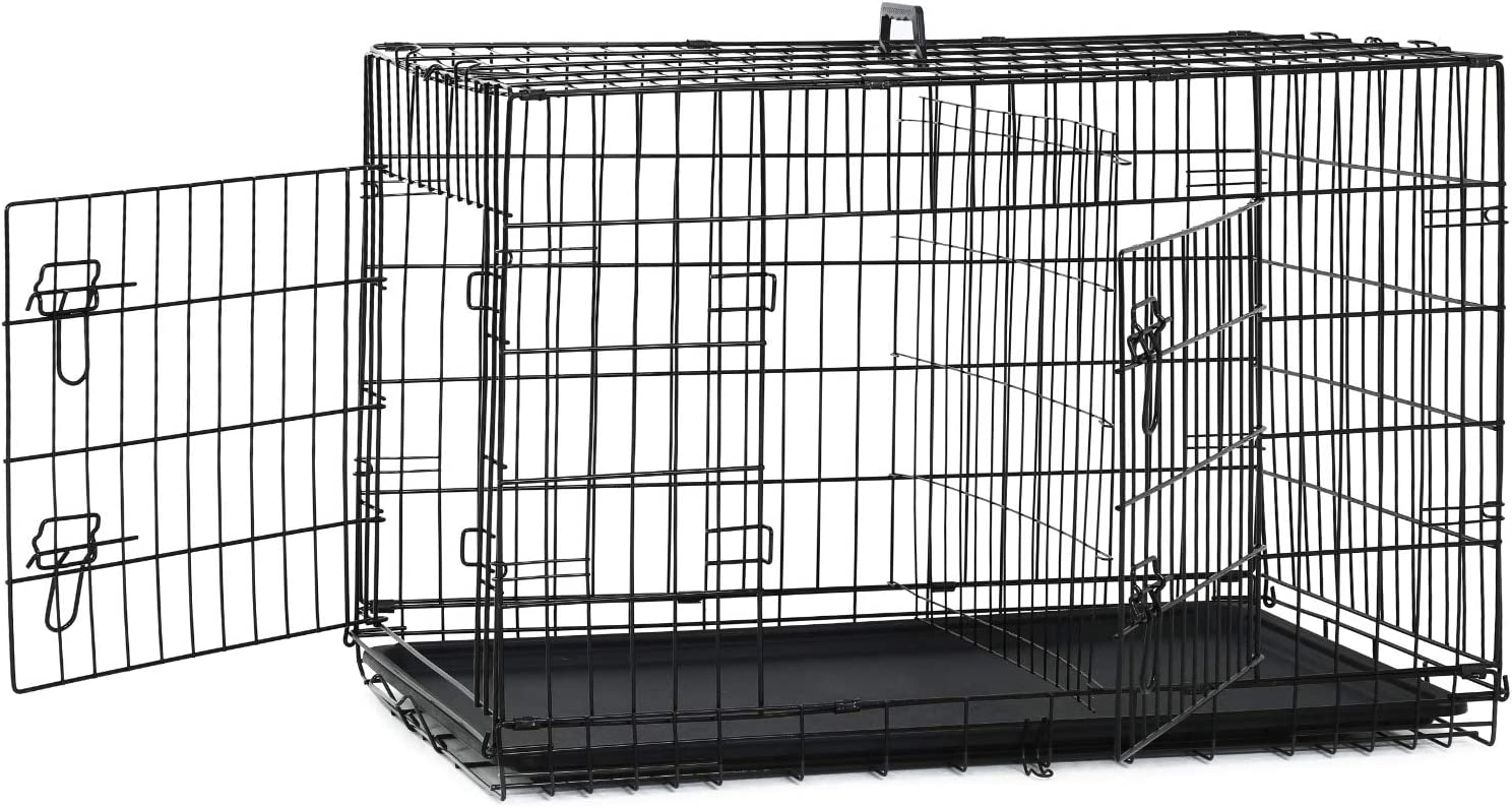 BestPet New Cat Dog cage Pet Folding Crate 40% OFF Cheap Sale Cag Kennel Popular overseas Wire Metal