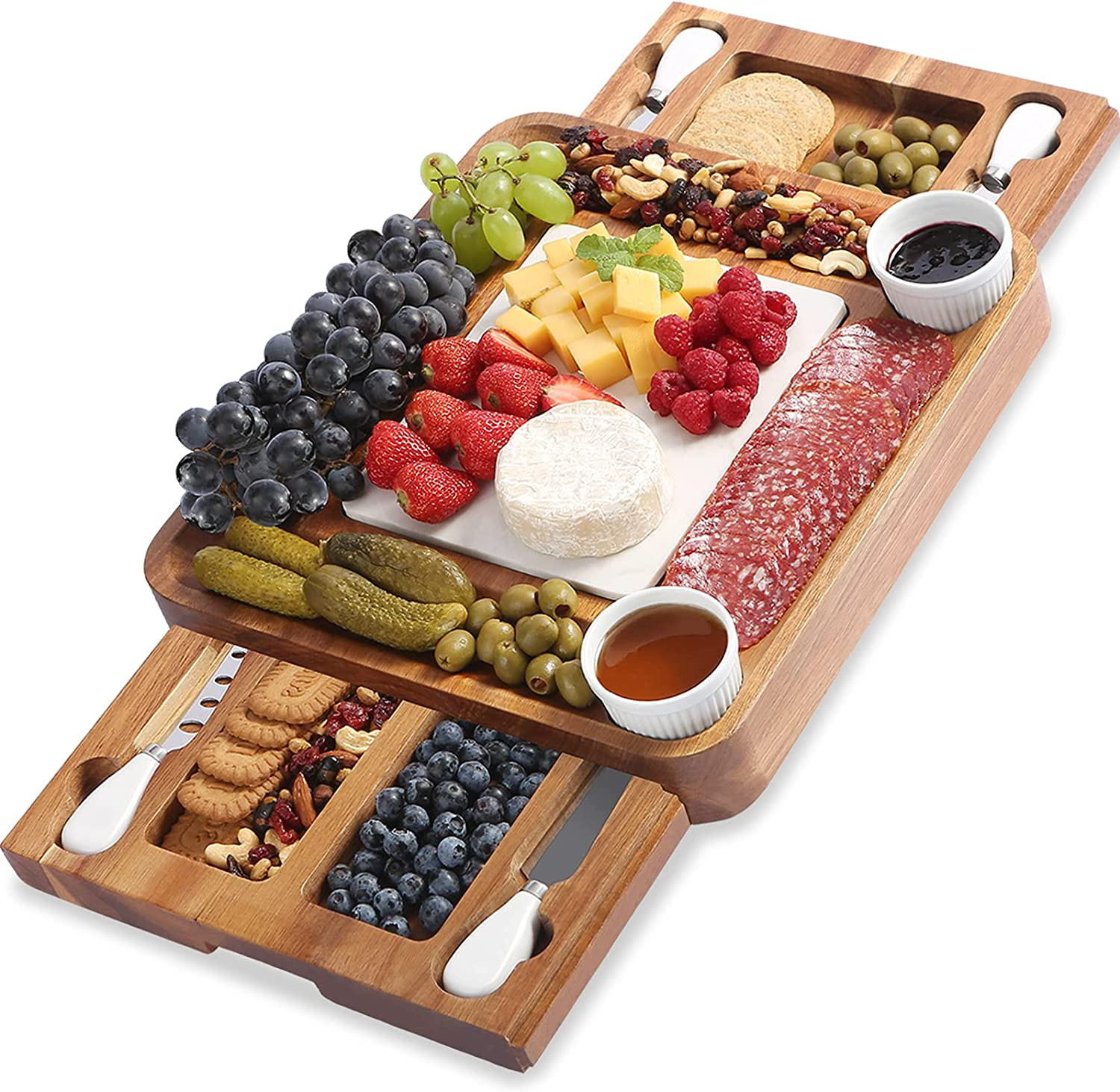 ABELL Cheese Board and shipfree Knife Ser Dealing full price reduction Charcuterie Acacia Boards Sets
