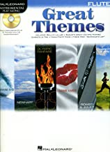 Hal Leonard Great Themes - Instrumental Play-Along Book/CD Flute