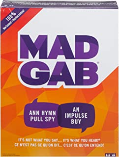 Mattel Games Mad Gab Game