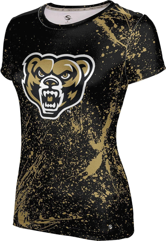 ProSphere Oakland University Girls' Performance T-Shirt (Splatter)
