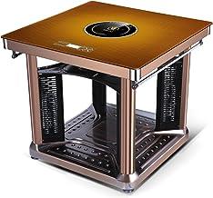ZTGL Calentador Eléctrico con Control Remoto, Estufa Silenciosa Rápida Multifunción con Rejilla de Secado y Estufa Eléctrica, Pantalla LED, para Interiores