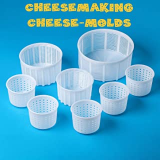 Kit de fabricación de queso | 8 piezas de moldes de queso | Molde universal para